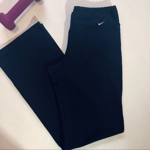 NIKE YOGA PANTS / NAVY / WIDE LEG / QUALITY NIKE